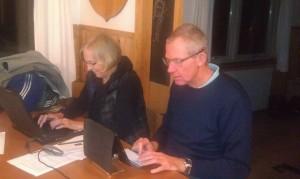 Anette og Torsten skriver visioner