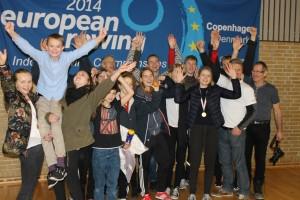 Glade Odderroere efter Europamesterskaberne